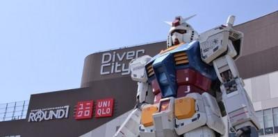 ダイバーシティ東京、ガンダム