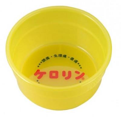 ケロリンの風呂桶、東西でサイズ違いを明記して売ってます