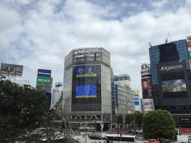 屋外看板 高額 日本一 渋谷