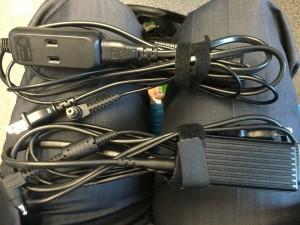 充電ケーブル2本の画像