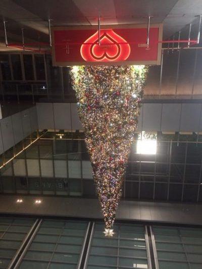 名古屋駅前 クリスマスツリー